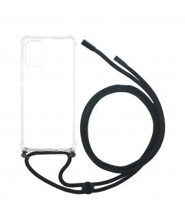 muvit life carcasa Samsung Galaxy S20 Plus colgante transparente