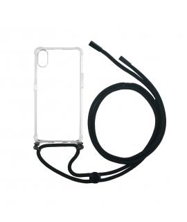 muvit life carcasa Apple iPhone XR con colgante transparente
