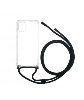muvit life carcasa Samsung Galaxy A51 con colgante transparente