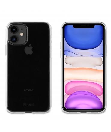 muvit for change funda Apple iPhone 11 Pro recycletek transparente antibacteriana