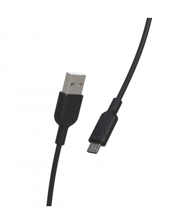 muvit for change pack cargador coche USB 2.4A 12W + cable Micro USB 2.4A 1,2m negro