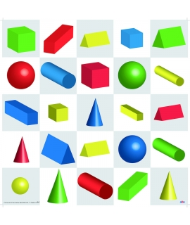 TTS Tapete formas geométricas en 3D