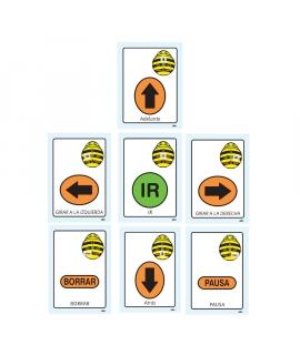 TTS Tarjetas de secuencia para Bee-Bot versión inglés