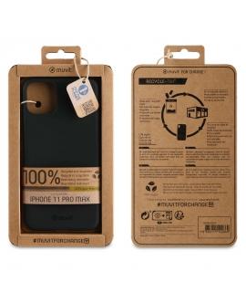 muvit for change funda Apple iPhone 11 Pro Max recycletek negra