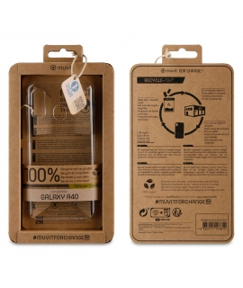 muvit for change carcasa Samsung Galaxy A40 recycletek transparente