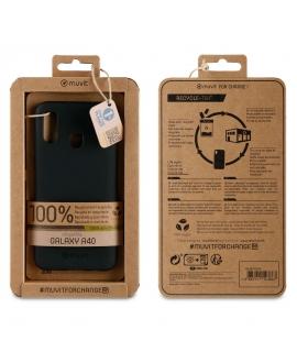 muvit for change funda Samsung Galaxy A40 recycletek negra