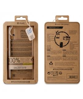 muvit for change carcasa Samsung Galaxy A70 recycletek transparente