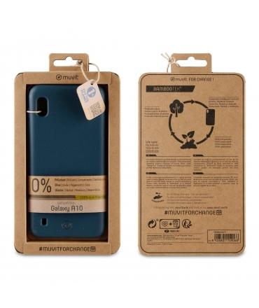 muvit for change carcasa Samsung Galaxy A10 bambootek dark ocean