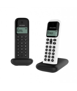 Alcatel teléfono D285 Dúo negro + blanco/negro