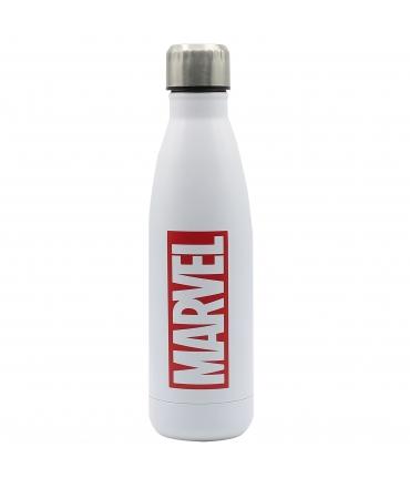 Puro Marvel botella de acero inoxidable 750ml logo rojo