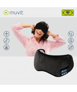 muvit antifaz con auriculares negro