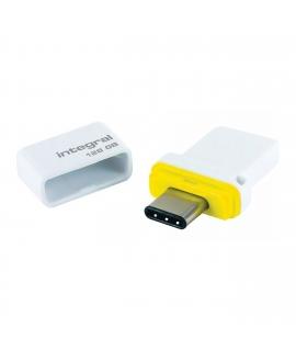 Integral Memory fusión 128GB dual USB-C & USB 3.0 flash drive