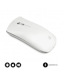 Subblim Elegant ratón Bluetooth blanco