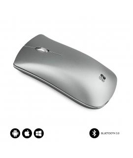 Subblim Elegant ratón Bluetooth plata