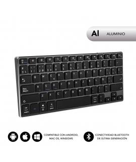 Subblim teclado Advance Compact Bluetooth gris