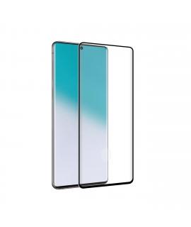 Tiger protector pantalla Samsung Galaxy Note 20 Ultra vidrio templado curvo case friendly marco negro anti bacteriana
