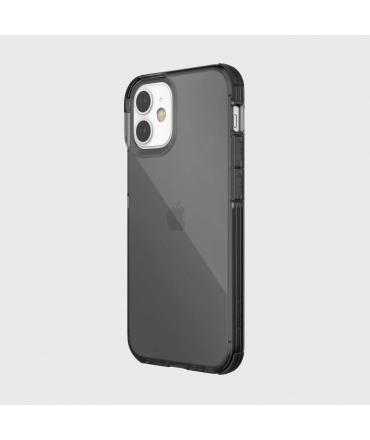 Raptic carcasa Clear Apple iPhone 12 Mini negra humo