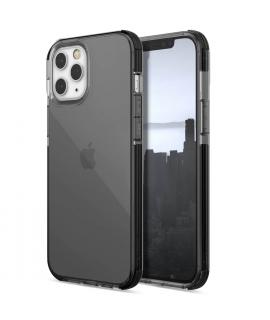 Raptic carcasa Clear Apple iPhone 12 Pro Max negra humo