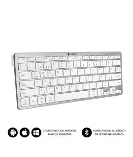 Subblim Dynamic Compact teclado Bluetooth plata