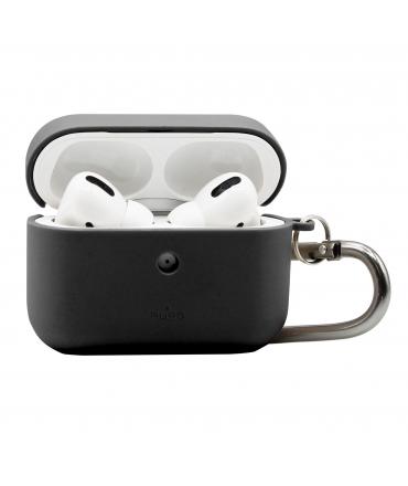 Puro funda biodegradable Apple Airpods Pro con mosqueton negra