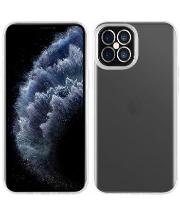 muvit for change funda Apple iPhone 12 Pro Max recycletek transparente antibacteriana