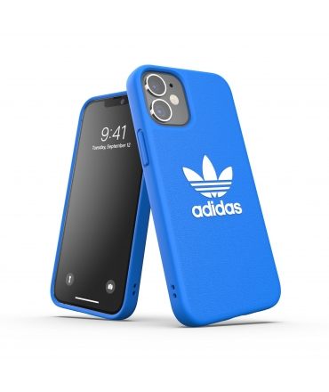 Adidas carcasa Iconic Apple iPhone 12 Mini azul