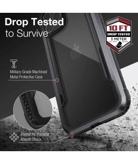 Raptic carcasa Shield Apple iPhone 12 Pro Max negra
