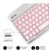 Subblim Smart Backlit teclado Bluetooth teclas iluminadas plata