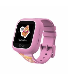 Elari Fixitime Lite Reloj inteligente para niños con GPS/LBS, seguimiento y botón SOS rosa