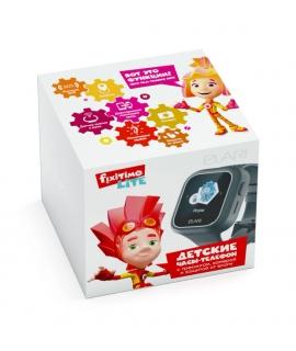 Elari Fixitime Lite Reloj inteligente para niños con GPS/LBS, seguimiento y botón SOS negro