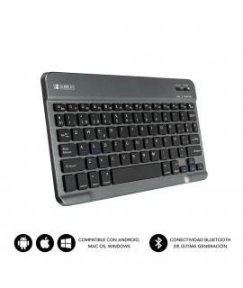 Subblim teclado Smart Bluetooth para tablet y smart TV gris