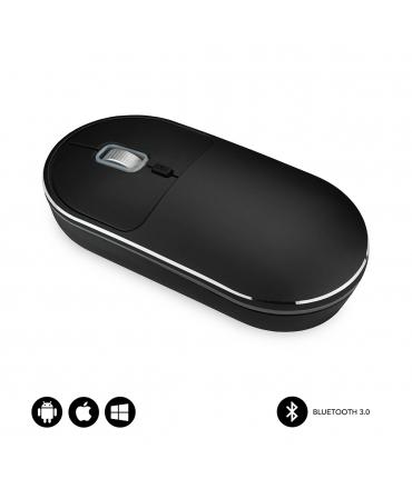 Subblim Excellent ratón Bluetooth negro