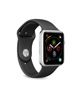 Puro pack 3 correas silicona Apple watch 38-40mm S/M y M/L negro