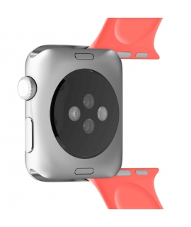 Puro pack 3 correas silicona Apple watch 38-40mm S/M y M/L coral