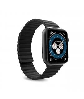 Puro correa Icon Link Apple watch 38-40mm S/M con cierre magnético negra