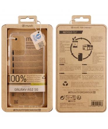 muvit for change funda Samsung Galaxy A52s 5G/A52 5G recicletek transparente