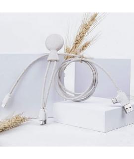 Xoopar Mr. Bio Long adaptador multi conector ecológico blanco