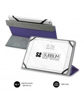 "Subblim Freecam funda universal tablet 10.1"" lila"