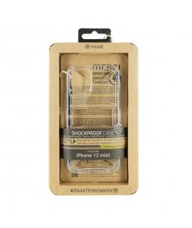 muvit for change funda Apple iPhone 12 Mini shockproof 2m transparente