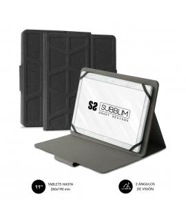"""Subblim Extreme funda universal tablet alta protección de 9,6"""" a 11"""" negra"""