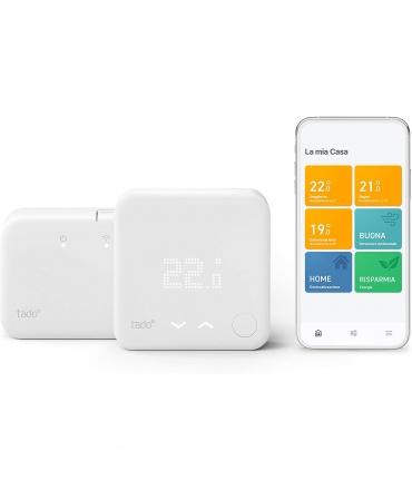 Tado kit inicio termostato inteligente inalámbrico y bridge para internet V3+