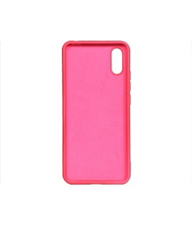 muvit Life funda liquid soft Xiaomi Redmi 9AT Fluor Pink
