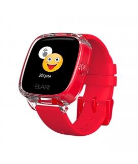Elari Kidphone 4 Fresh reloj inteligente para niños con GPS/LBS/WIFI, cámara y resistente al agua rojo
