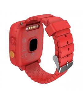 Elari Kidphone 4G Reloj inteligente para niños con GPS/LBS/WIFI, cámara y resistente al agua rojo