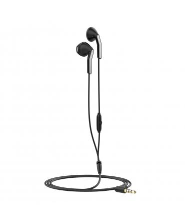 muvit auriculares estéreo MEU 3.5mm negro