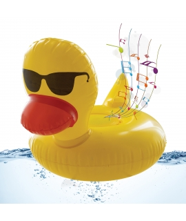 muvit life altavoz Wireless flotante pato amarillo
