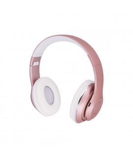 Bluetooth headphones Forever Music Soul BHS-300 pink