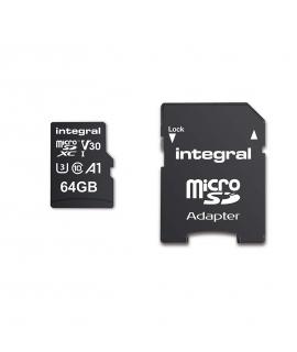 Integral Memory tarjeta memoria microSD HC/XC 64GB clase 10(V30)