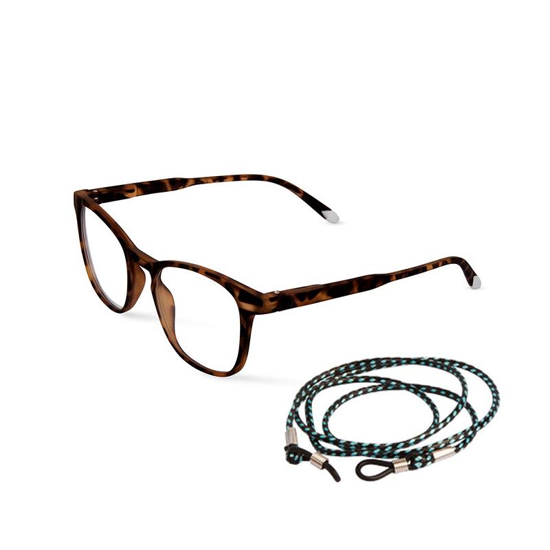 Barnes screen glasses Dalston marron
