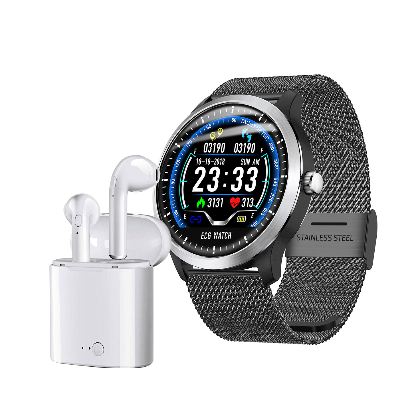 Pack Smartwatch LUXE ELECTRO + Myway auriculares true wireless